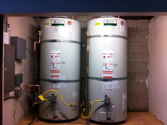 Commercial Water Heaters Installed