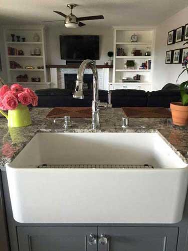 Kitchen Farm Sink Installation