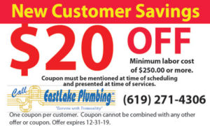 Coupon – $20 Off New Customer Savings Plumbing Coupon