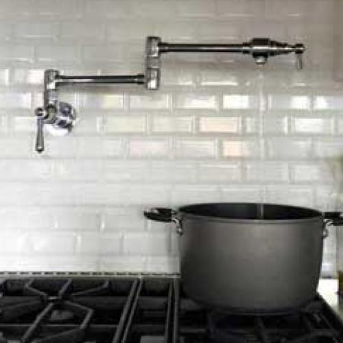 Kitchen Pot Filler Installation